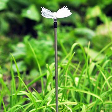 Solar Butterfly Stick Light