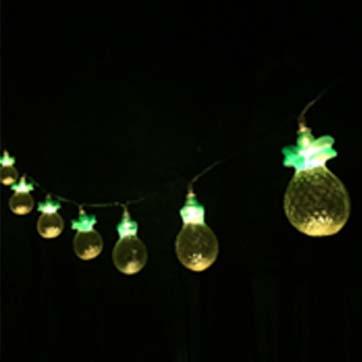 Bajkowe ananasowe nocne światło