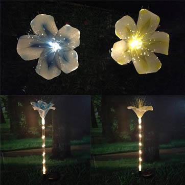 światło światłowodowe kwiat dekoracji
