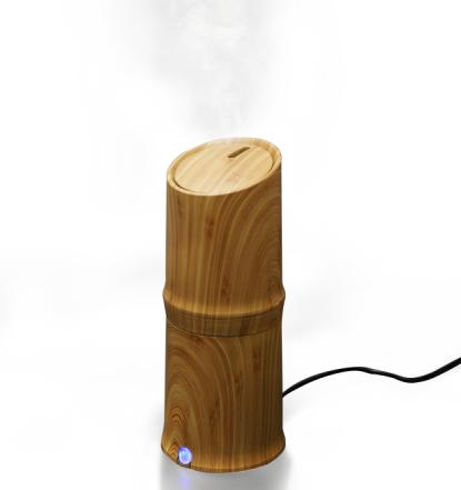 300 ml Fajne Mist Nawilżacz Ultradźwiękowy Aroma Dyfuzor Olejek do Biura Home Sypialnia Salon Badania Jogi Spa - Ziarna Drewna